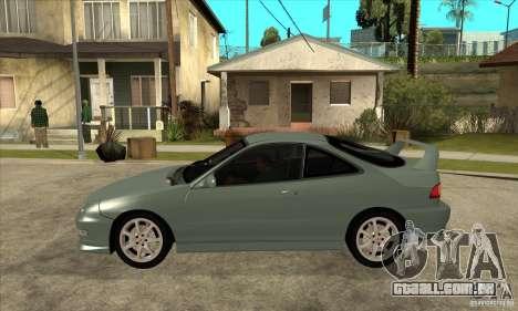 Acura Integra Type-R - Stock para GTA San Andreas esquerda vista