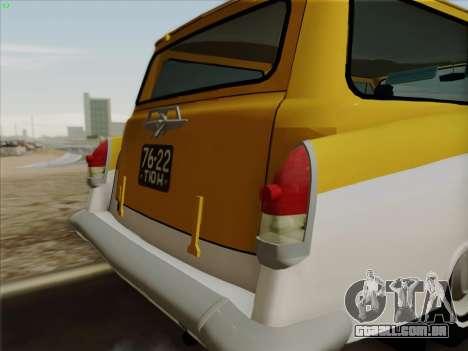 GÁS 22 para GTA San Andreas vista direita