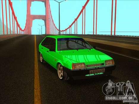 VAZ 2109 inverno para GTA San Andreas