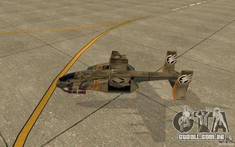 Orca ar comando e Conquer 3 para GTA San Andreas