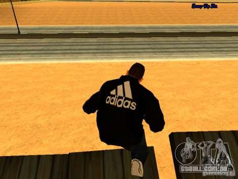 Novo skin para Gta San Andreas para GTA San Andreas segunda tela