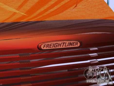 Freightliner Columbia para GTA San Andreas vista superior
