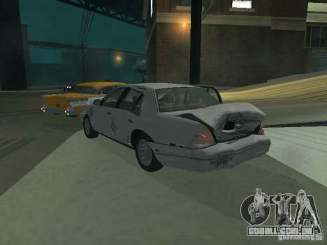 Ford Crown Victoria para o motor de GTA San Andreas