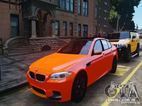 BMW M5 F10 2012 Aige-edit para GTA 4 traseira esquerda vista