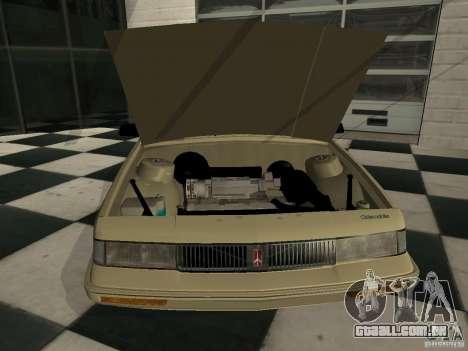 Oldsmobile Cutlass Cruiser 1993 para GTA San Andreas traseira esquerda vista