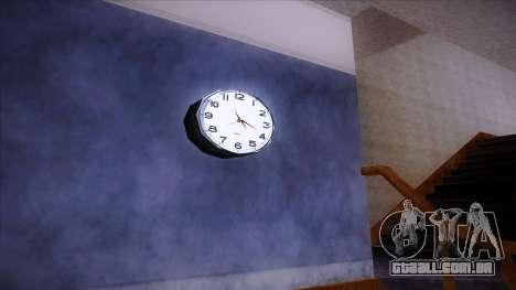 Relógio de parede de trabalho para GTA San Andreas