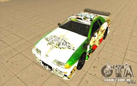 Graffiti de elegia para GTA San Andreas