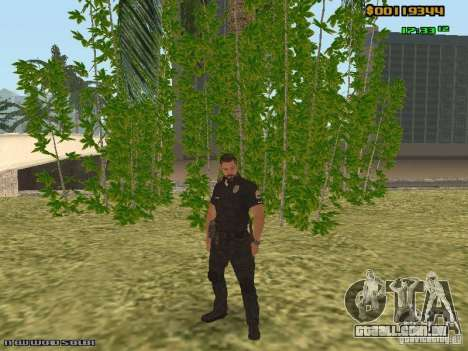 SAPD skins para GTA San Andreas segunda tela