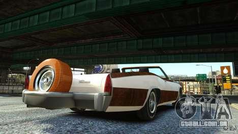 Buccaneer Final para GTA 4 esquerda vista