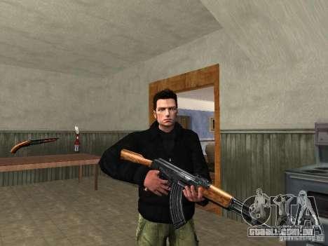 Claude HD Remake (Beta) para GTA San Andreas