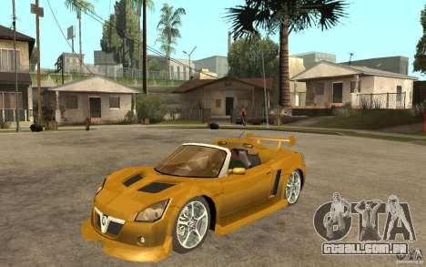 Opel Speedster para GTA San Andreas