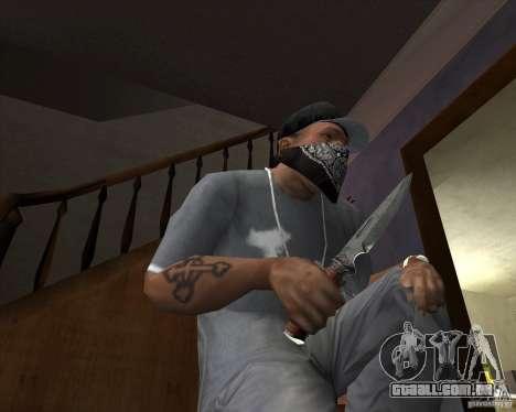 Lâmina de caça para GTA San Andreas
