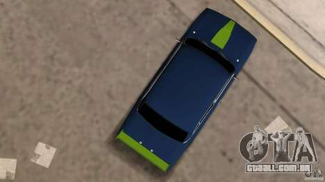 VAZ 2106 Tuning v 2.0 para GTA Vice City vista traseira