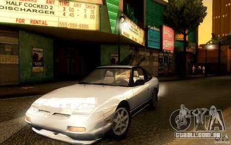 Nissan 180SX Kouki para GTA San Andreas esquerda vista
