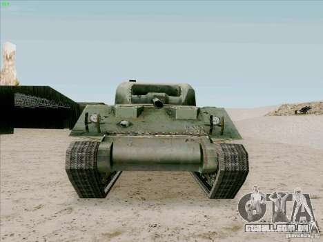 Sherman para GTA San Andreas vista direita
