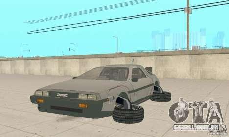 DeLorean DMC-12 (BTTF2) para GTA San Andreas