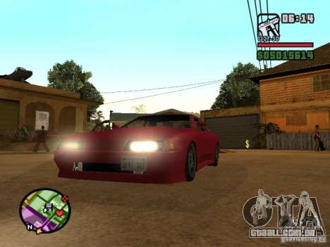 Ultra Elegy v1.0 para GTA San Andreas esquerda vista