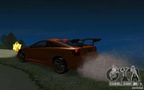 Toyota Celica para as rodas de GTA San Andreas