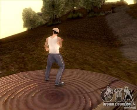 SkinPack for GTA SA para GTA San Andreas oitavo tela