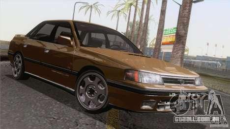 Subaru Legacy RS para GTA San Andreas vista interior
