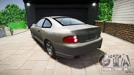 Pontiac GTO 2004 para GTA 4 traseira esquerda vista