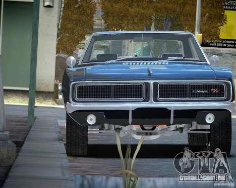 Dodge Charger RT Stock [EPM] para GTA 4 vista de volta