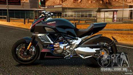 Ducati Diavel Carbon 2011 para GTA 4 esquerda vista