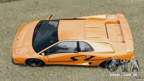 Lamborghini Diablo SV 1997 v4.0 [EPM] para GTA 4 vista direita