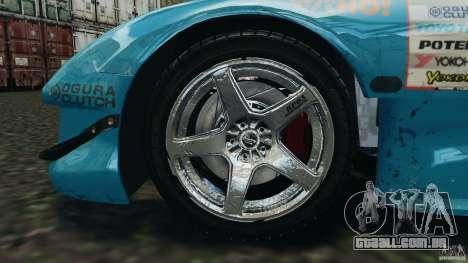 Mazda RX-7 RE-Amemiya v2 para GTA 4 vista lateral