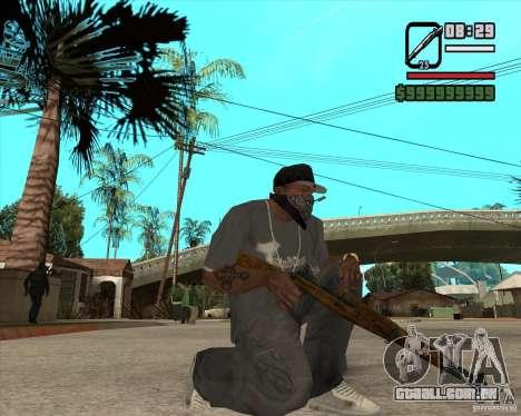Armas de Pak de Fallout New Vegas para GTA San Andreas quinto tela