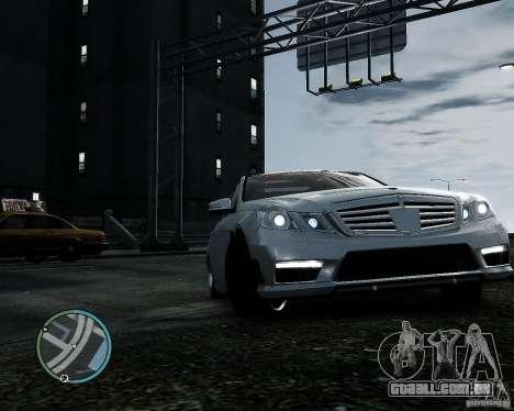 Mercedes Benz B63 S Brabus v1.0 para GTA 4 vista direita