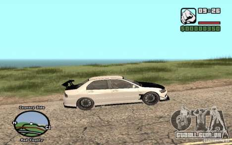 Mitsubishi Lancer Evolution 8 Carbon para GTA San Andreas