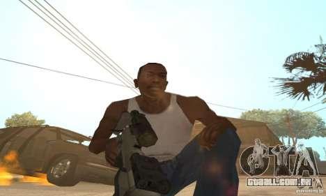 Intervenšn de Call Of Duty: Modern Warfare 2 para GTA San Andreas segunda tela