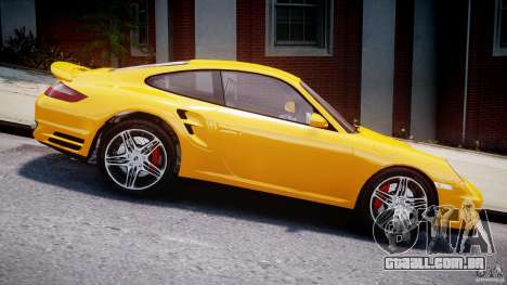 Porsche 911 Turbo V3.5 para GTA 4 vista de volta