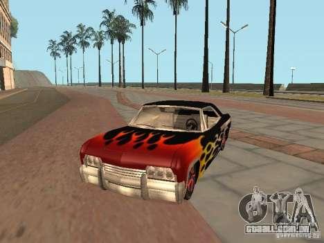 Vinil para GTA San Andreas terceira tela