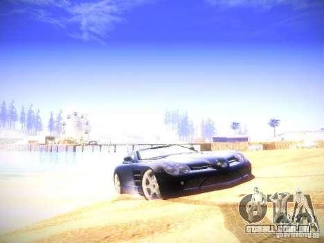 New ENBSEries 2011 v3 para GTA San Andreas por diante tela