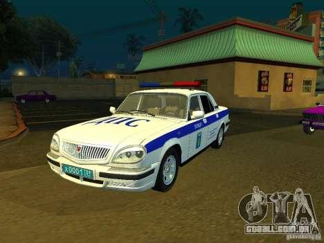 GAZ 31105 polícia para GTA San Andreas