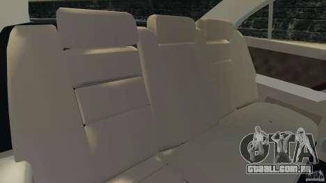 Honda Acura RL para GTA 4 vista interior