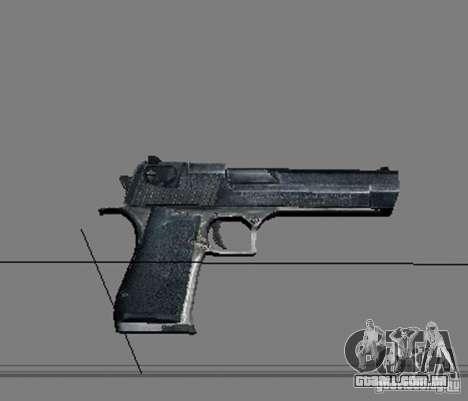 Um conjunto de armas do perseguidor V2 para GTA San Andreas nono tela
