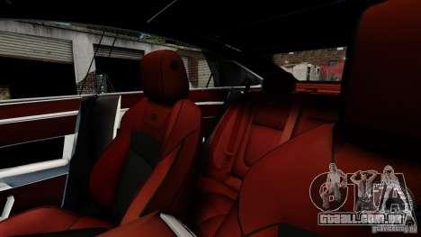 Jaguar XJ 2012 para GTA 4 vista superior