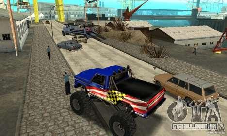 Avtoparkovŝik para GTA San Andreas