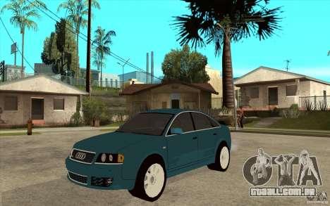 Audi RS6 para GTA San Andreas