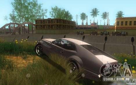 AMC Javelin 2010 para GTA San Andreas vista superior