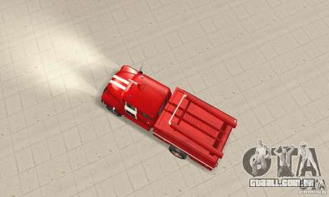 ZIL-130 fogo para GTA San Andreas vista direita