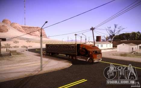 Box Trailer para GTA San Andreas vista direita