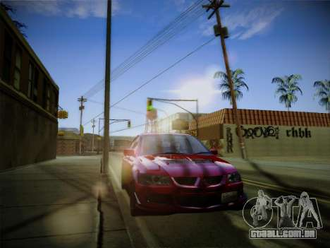 ENBSeries by Treavor para GTA San Andreas por diante tela
