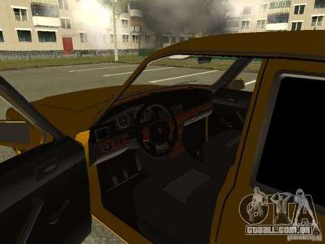 GAZ Volga 3102 para GTA San Andreas vista traseira