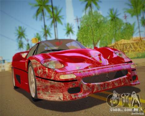GTA IV Scratches Style para GTA San Andreas sétima tela