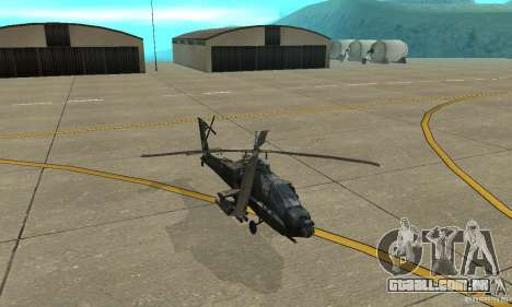 An-64 Apache para GTA San Andreas