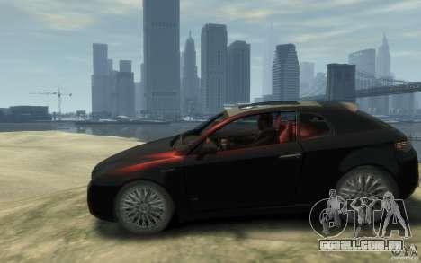 Alfa Romeo Brera para GTA 4 esquerda vista